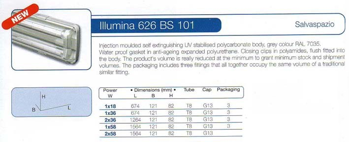 Illumina 626 BS 101 (IP66)